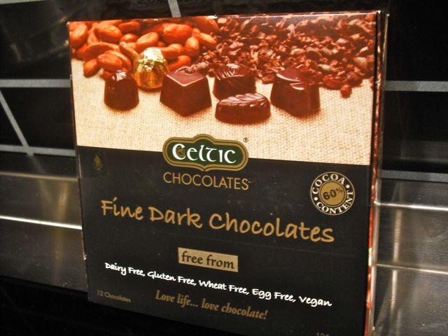 Fine Dark Chocolates by Celtic