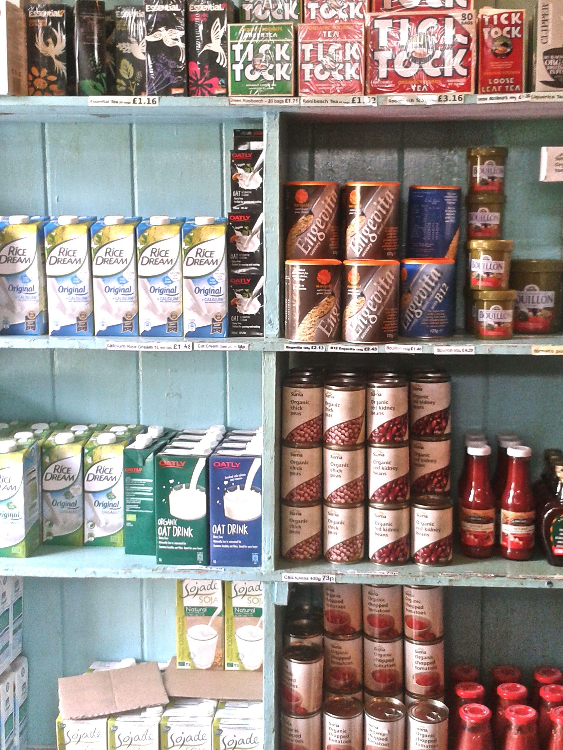 Vegan pantry items