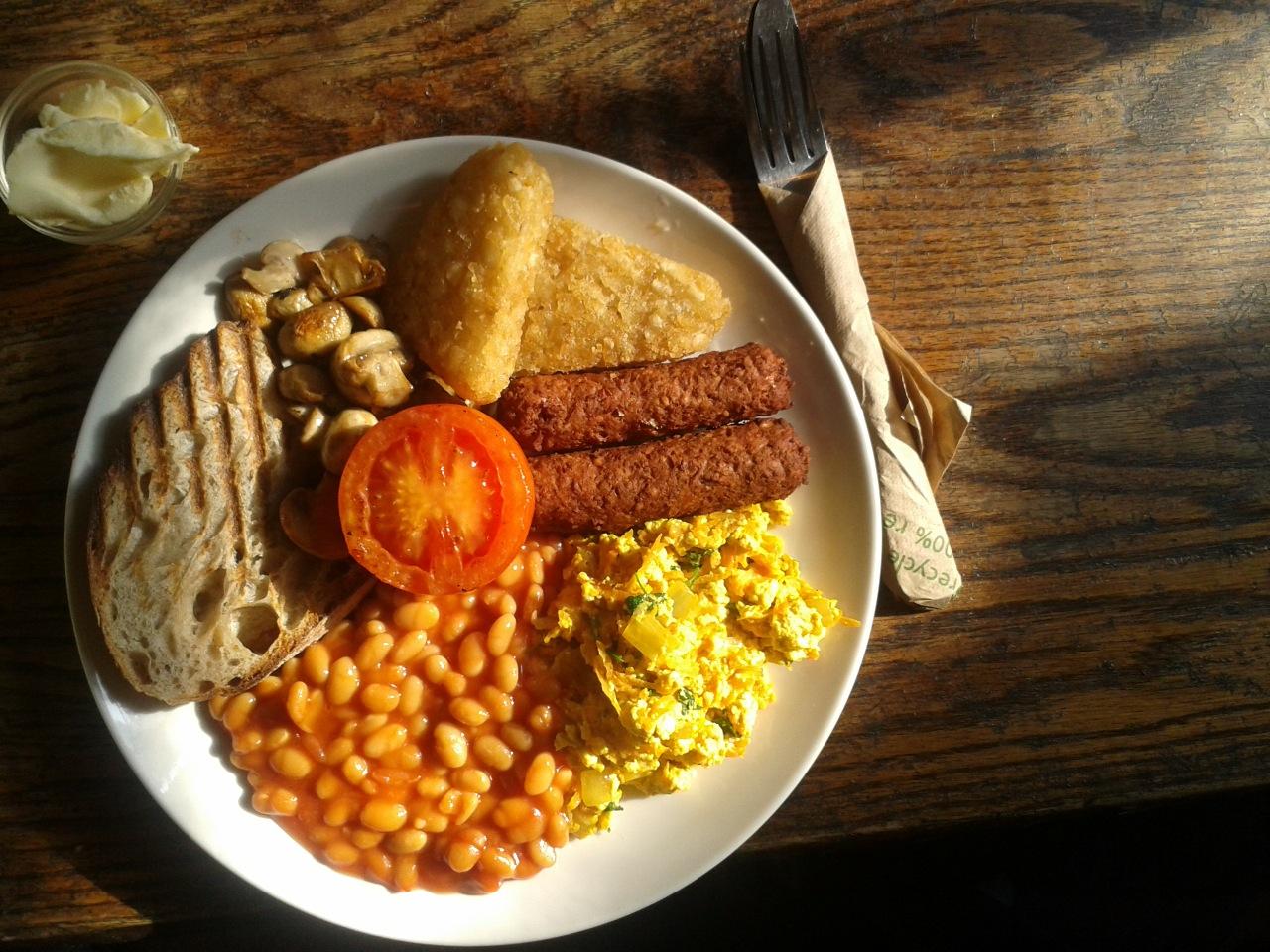 breakfast gallery cafe