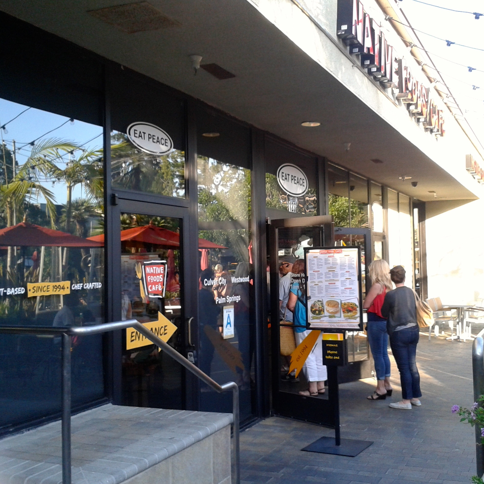 So popular there was a line out the door at the Santa Monica location