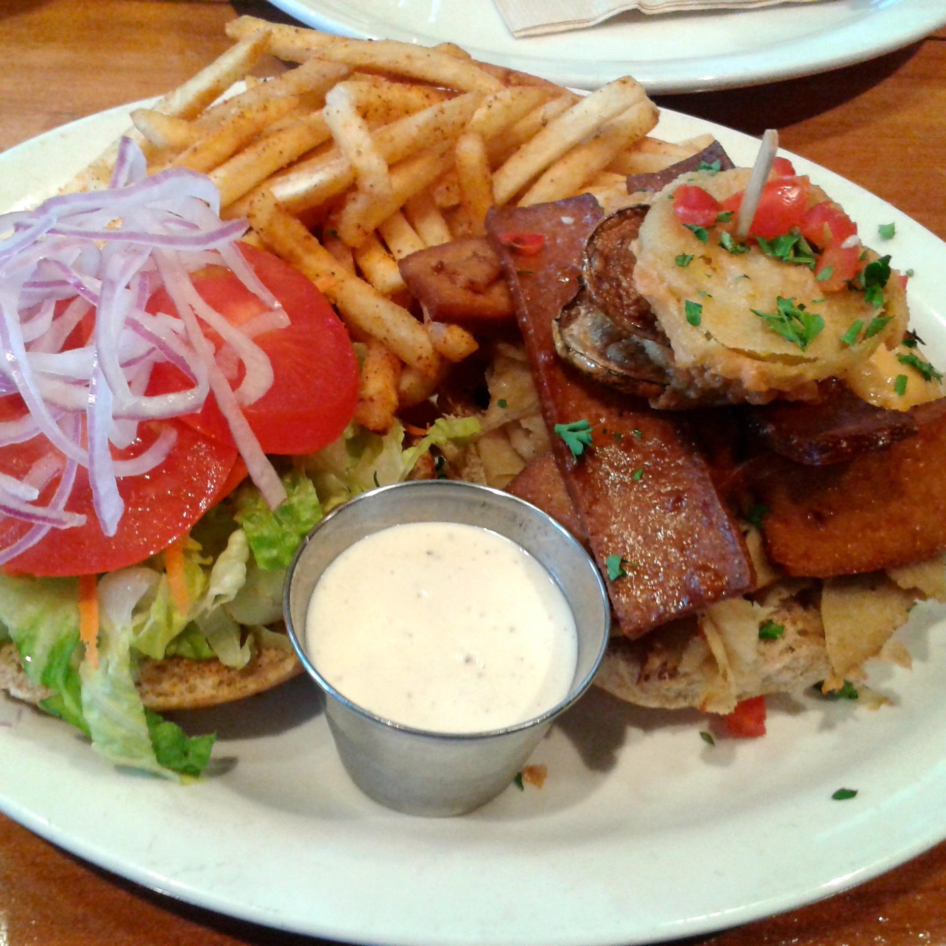 I adore this burger