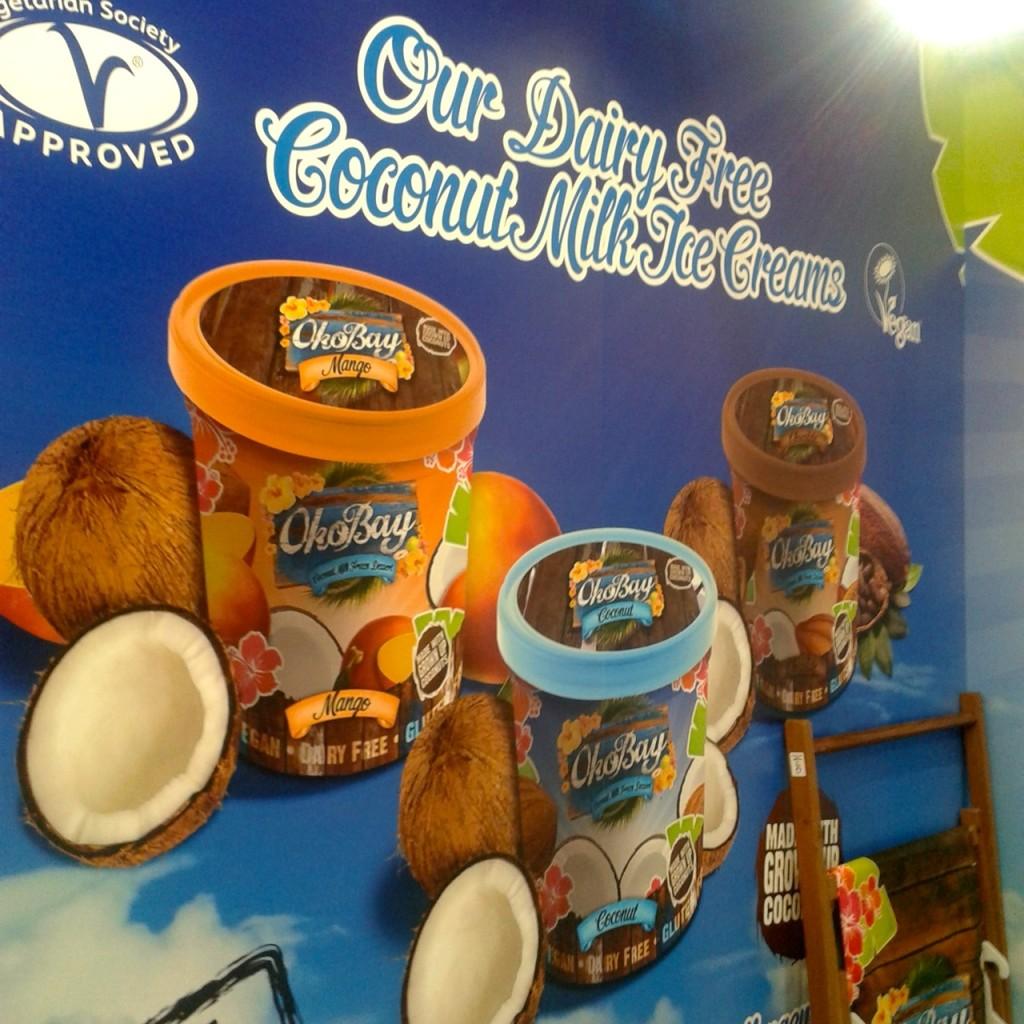 OkoBay vegan coconut ice cream