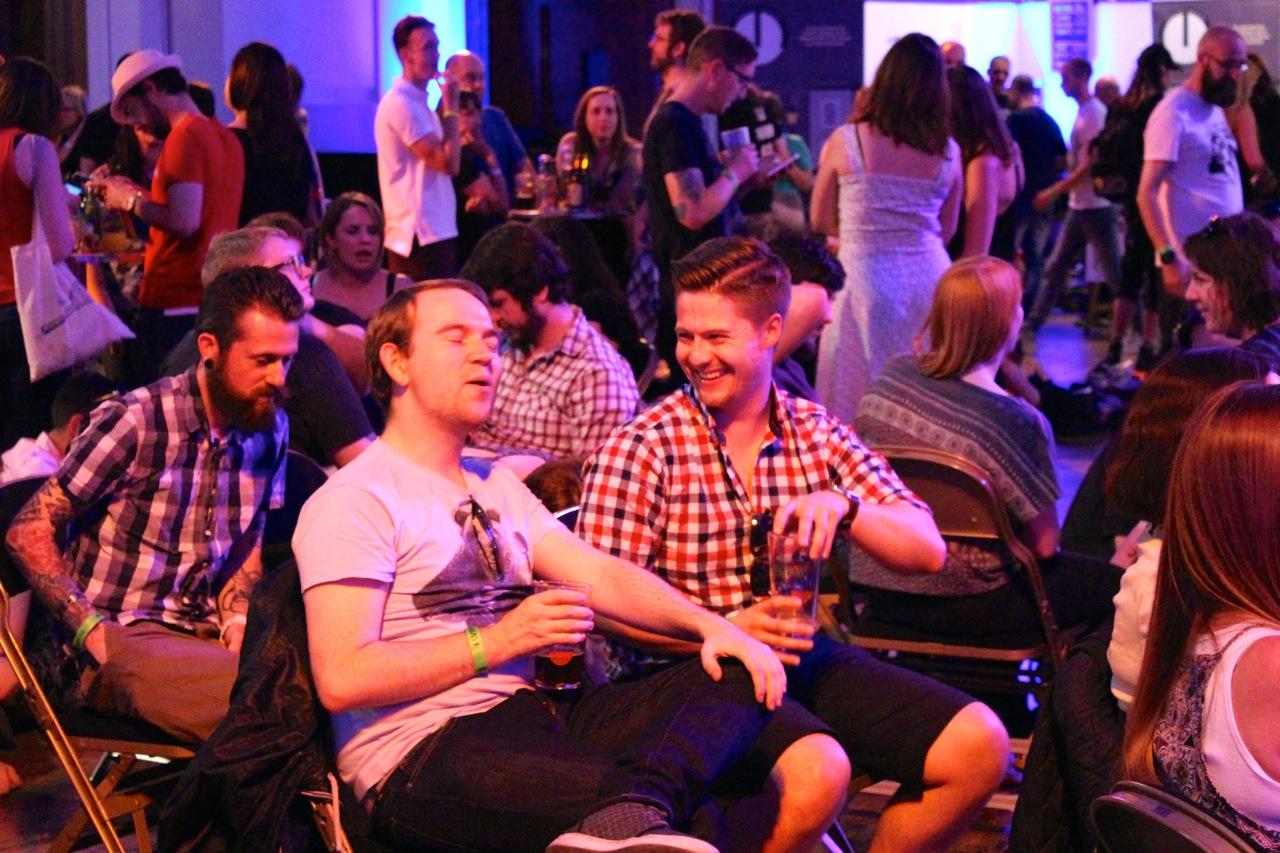 http://fatgayvegan.com/wp-content/uploads/2015/07/Laughing-at-Beer-Fest.jpg