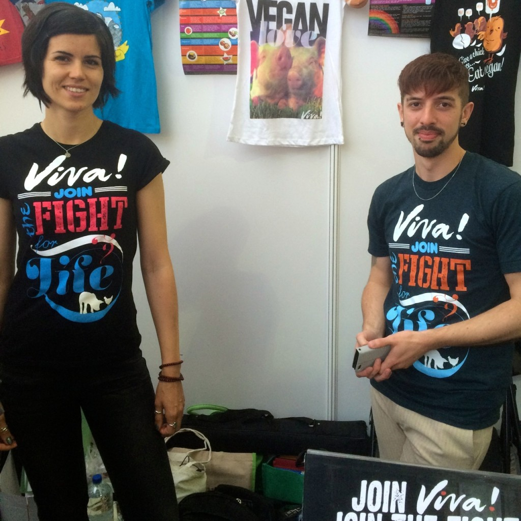 Viva Campaigns at Just V Show
