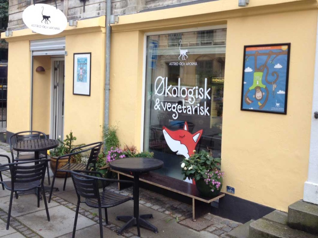 Astrid och Aporna shop front in Copenhagen