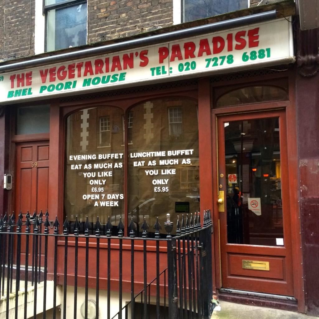 Vegetarian Paradise closed