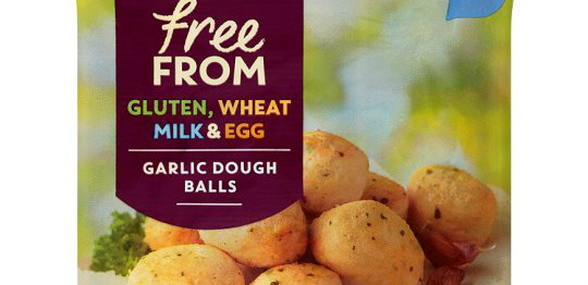 Major UK supermarket selling vegan garlic dough balls!
