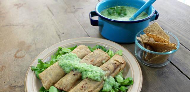 Vegan recipe: salsa verde