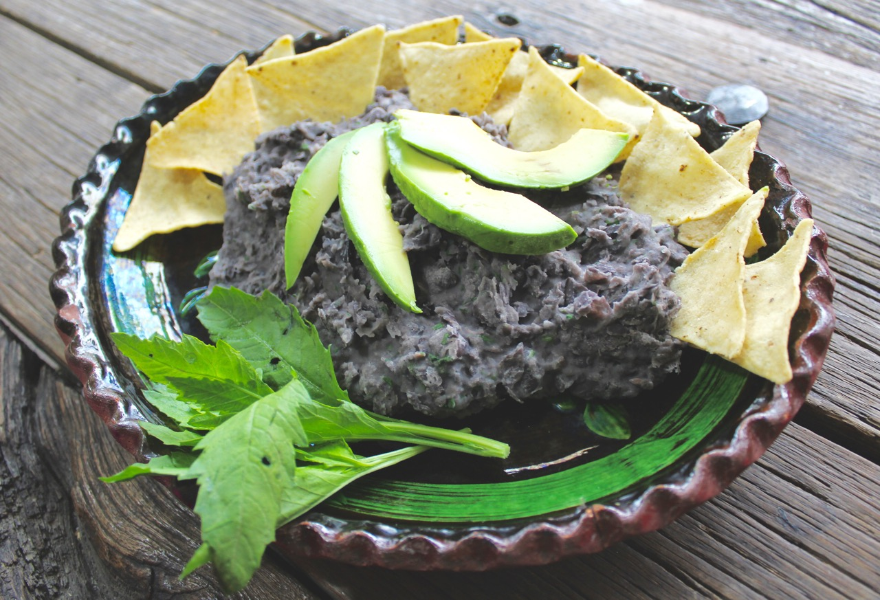 Gorgeous refried beans recipe
