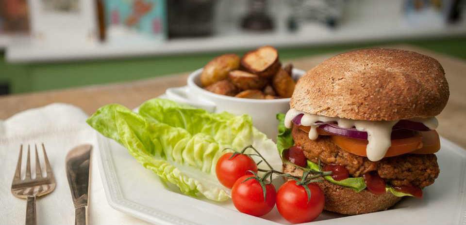 London pub launches vegan burger!