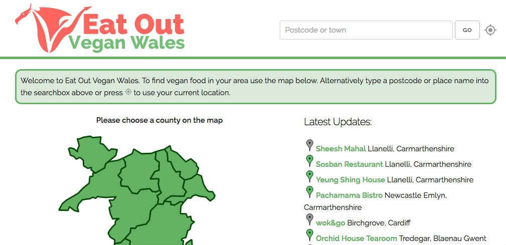 Eat Out Vegan Wales