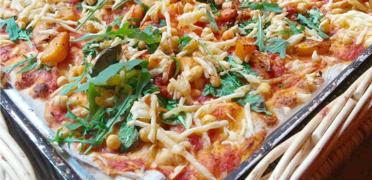 Vegan pizza in Exeter!