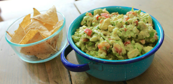 Simplest and best guacamole