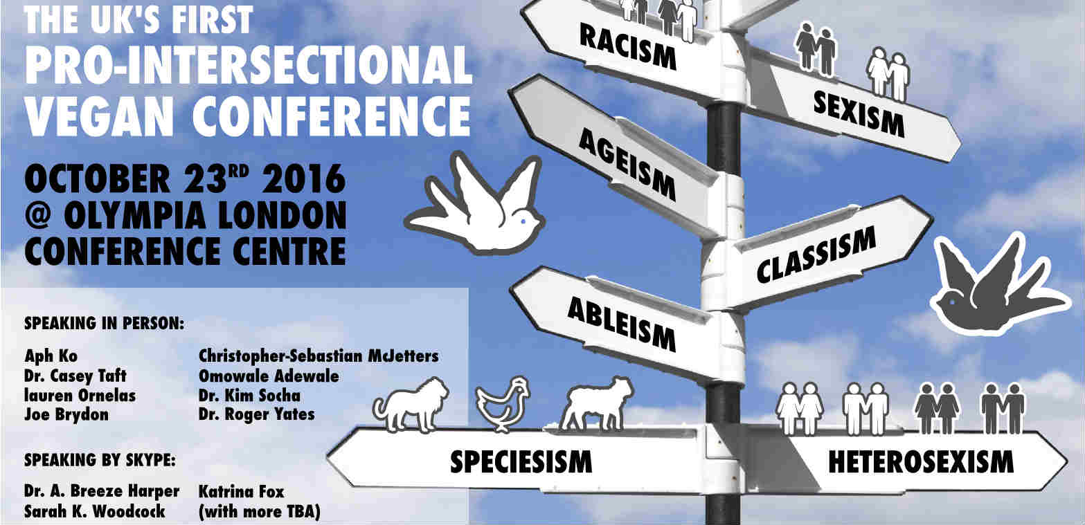 UK's first intersectional vegan conference