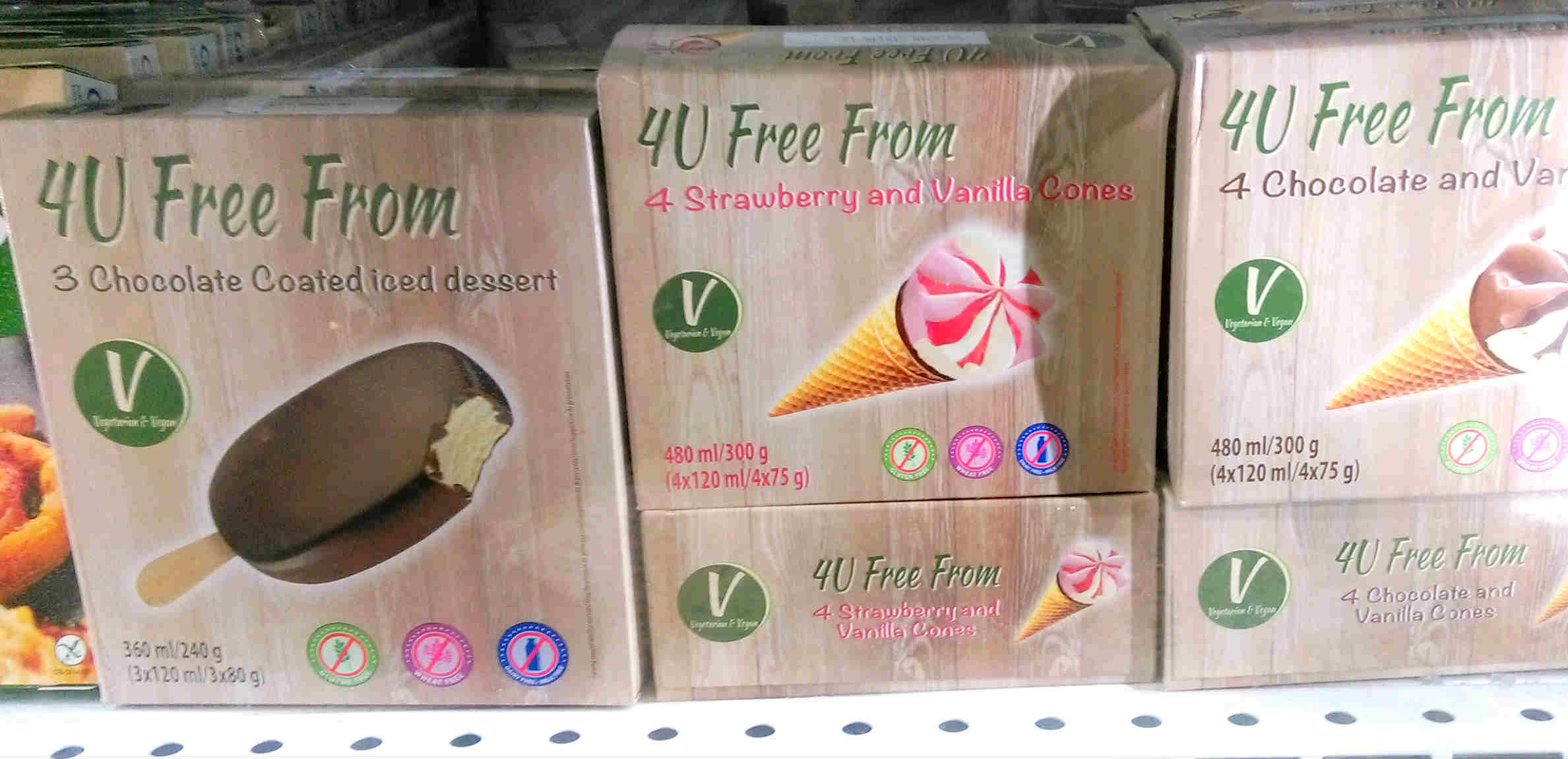 Inexpensive vegan ice cream
