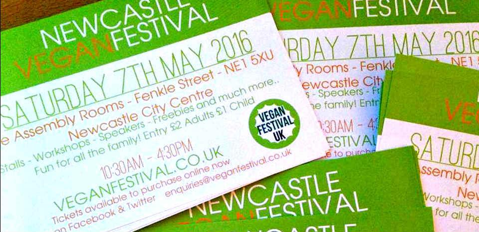 HUGE Newcastle Vegan Festival this week!