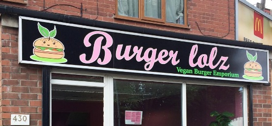 New vegan burger bar in Sheffield