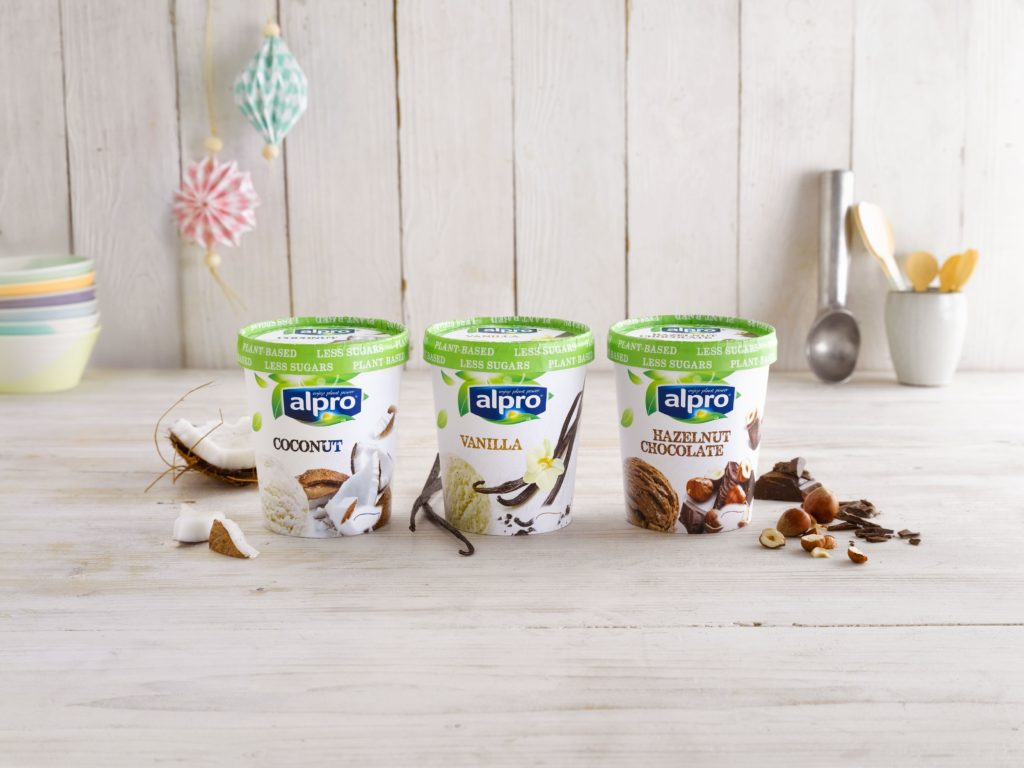 New Vegan Ice Cream By Alpro Fat Gay Vegan