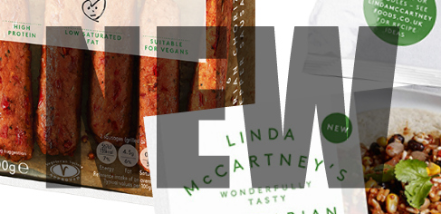 New vegan products by Linda McCartney