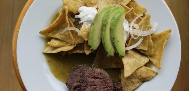 Make chilaquiles