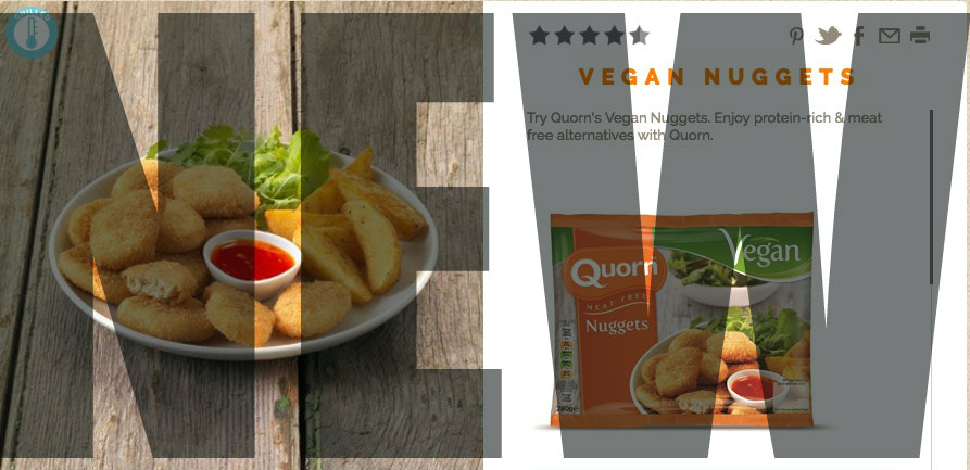 ANOTHER new vegan product from Quorn