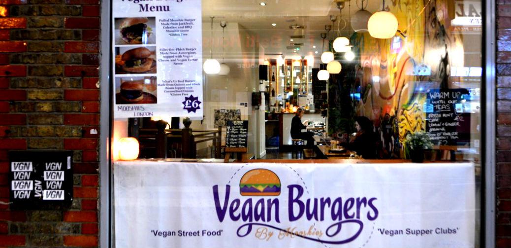 New vegan burger bar in London