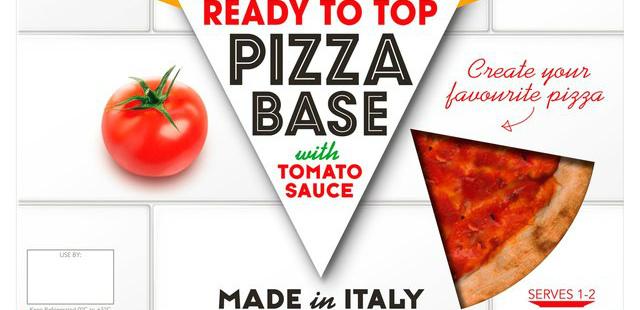 Vegan pizza base