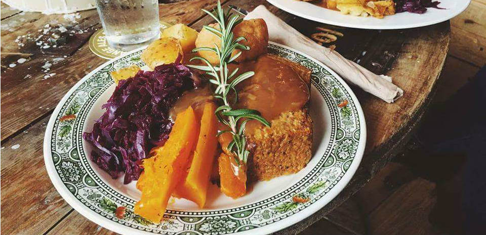Amazing vegan Sunday roast