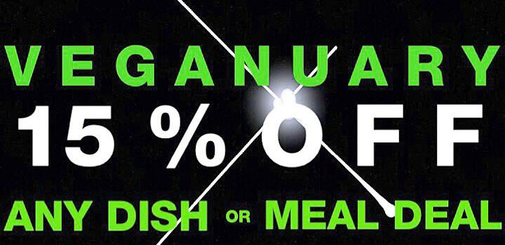Discount for Veganuary