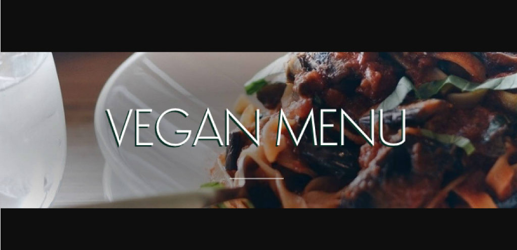 ASK Italian now has vegan menu