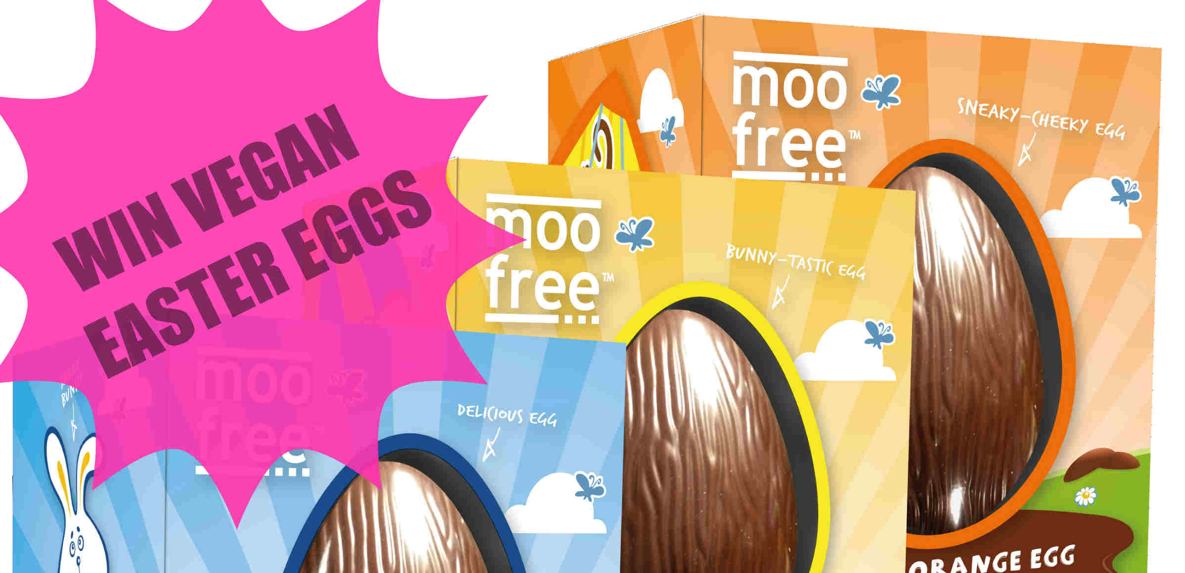 Win vegan Easter Eggs