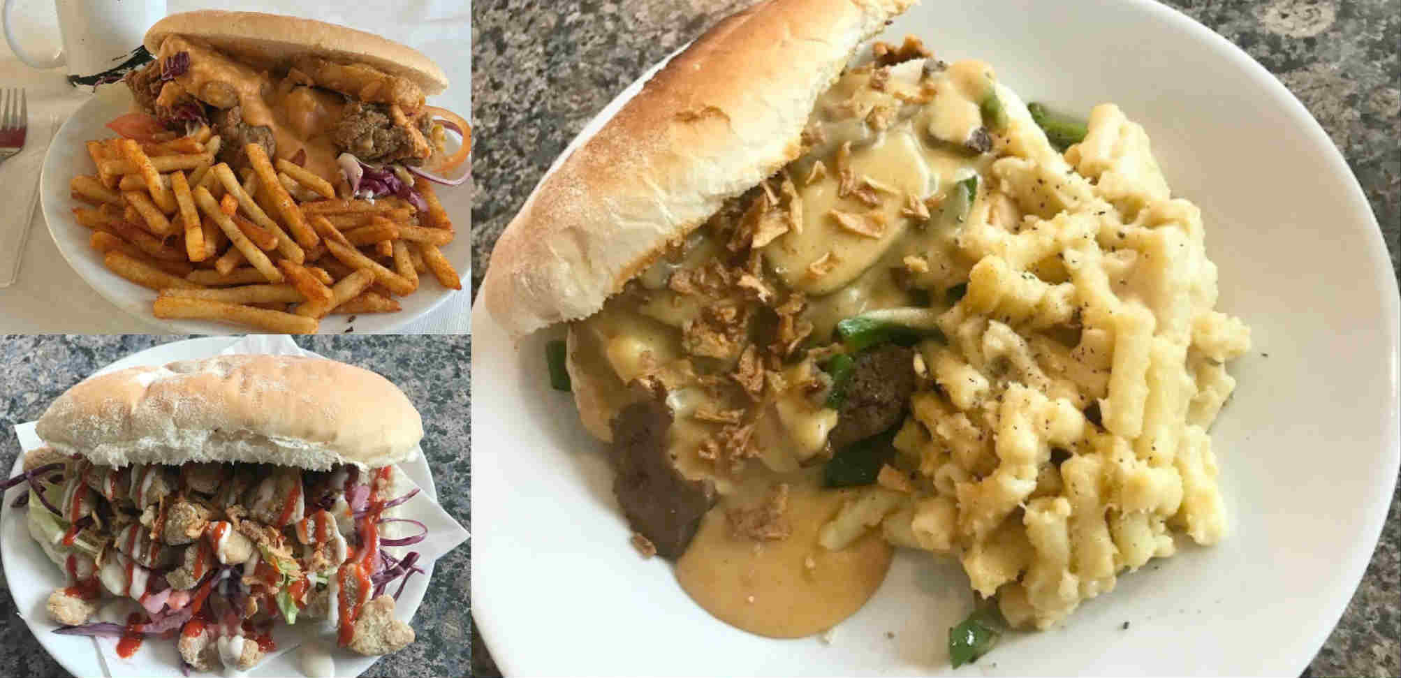 Decadent vegan food in Leeds