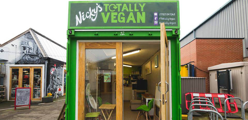 UK shopping village gets a vegan cafe