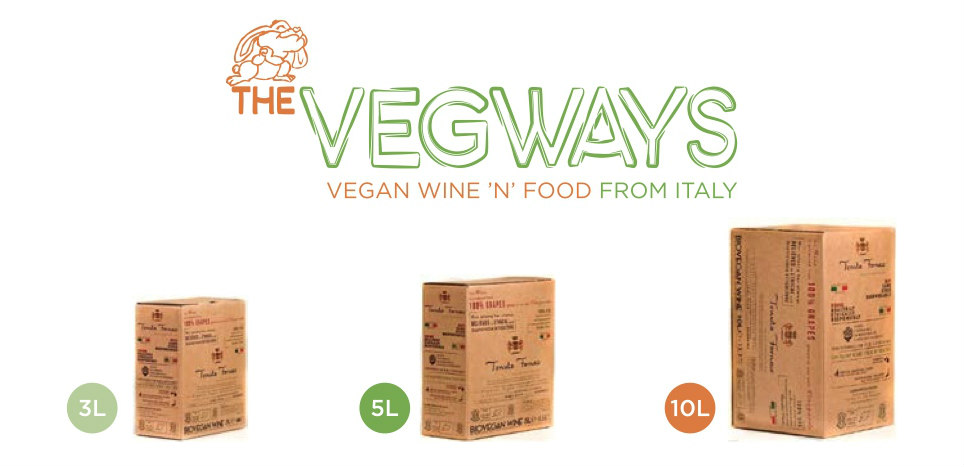 Vegan wine in a box