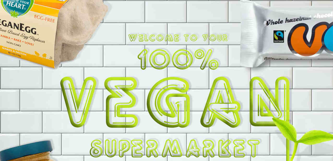Discount code for online vegan shop
