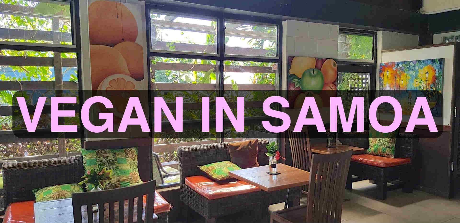 Vegan in Samoa