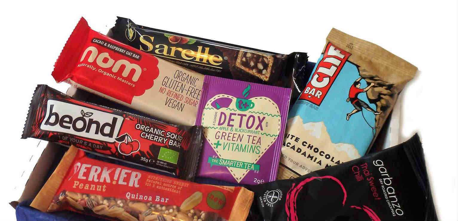 New treats from Vegan Tuck Box