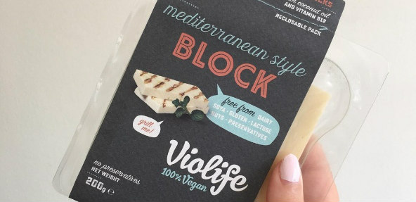 Vegan halloumi for the UK