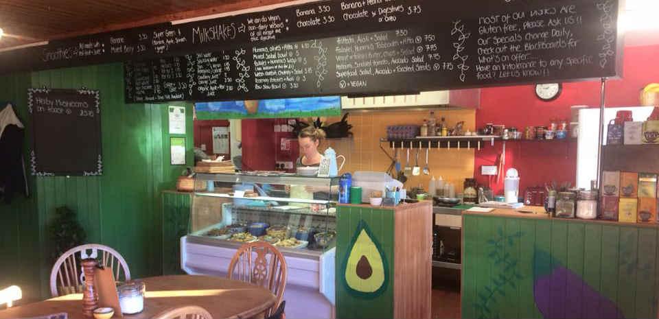 Vegan cafe in Kent