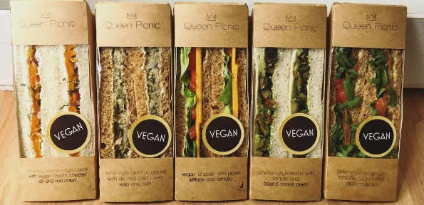 Vegan sandwiches in London