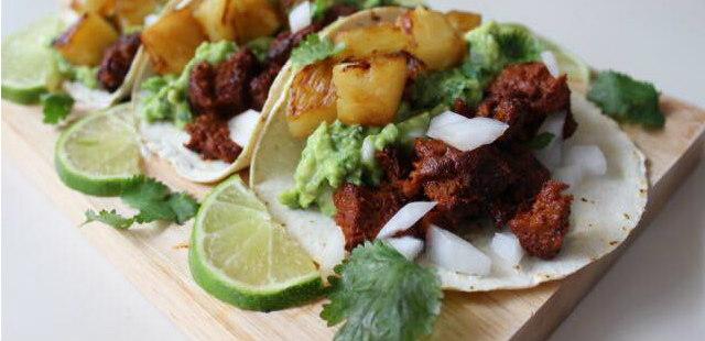 Tacos al pastor recipe