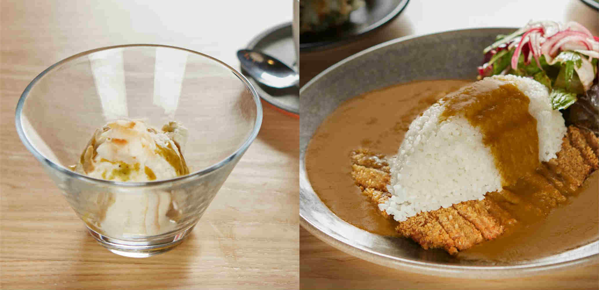 New seitan katsu curry