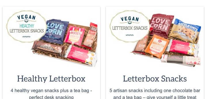 Letterbox snacks