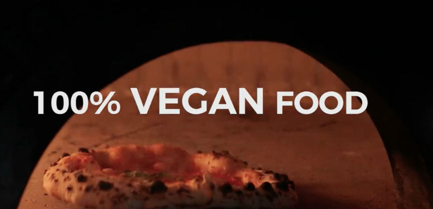 Massive vegan pizza restaurant for London