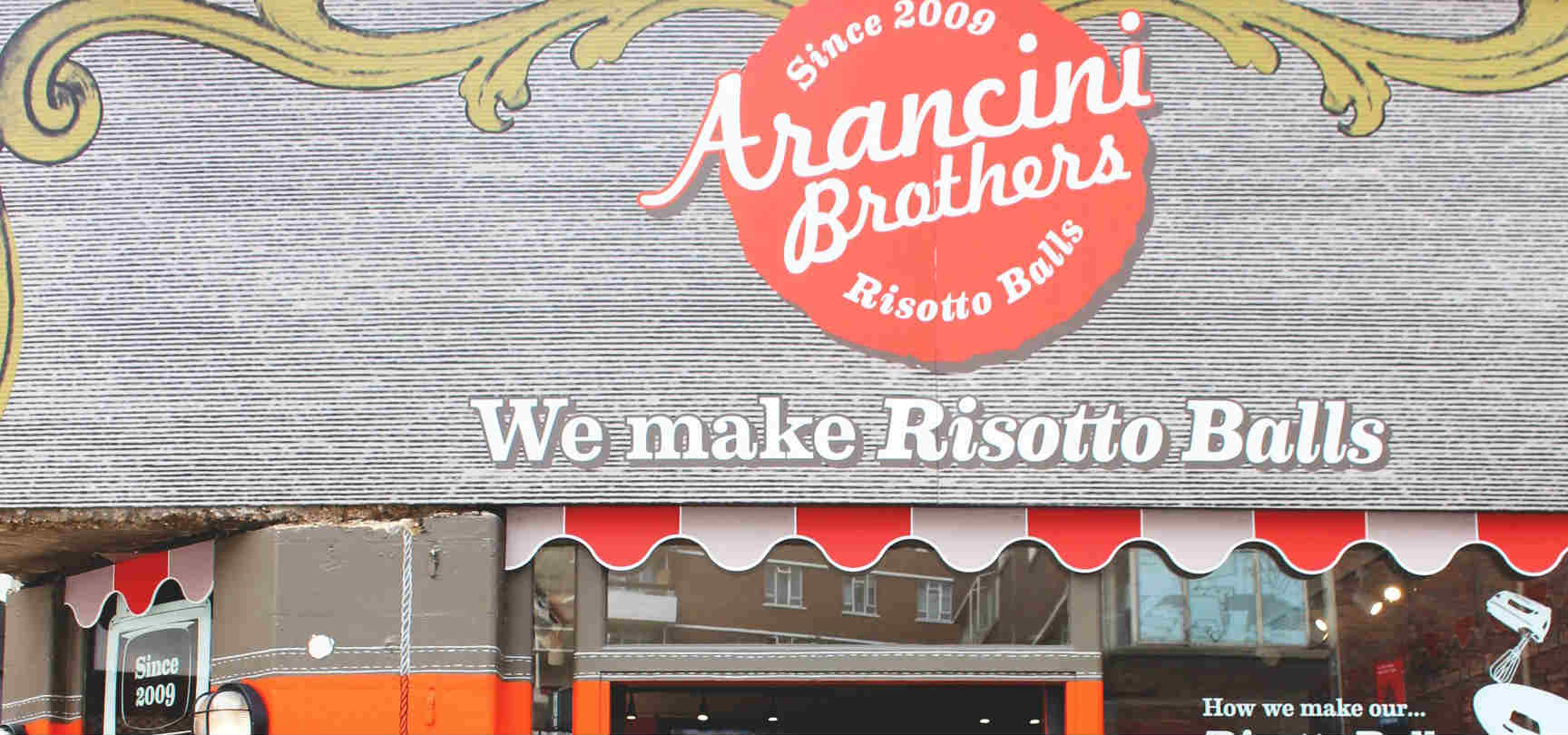 BREAKING NEWS: Arancini Brothers open vegan outlet