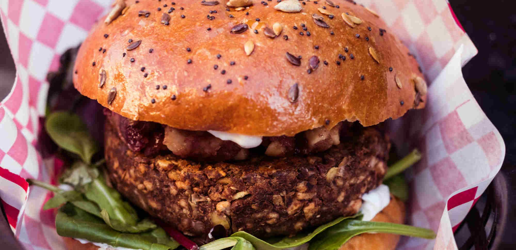New burger at Mooshies