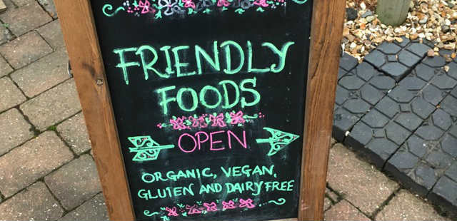 Vegan store near Wolverhampton