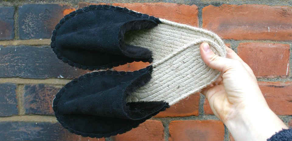 Vegan slipper making workshop