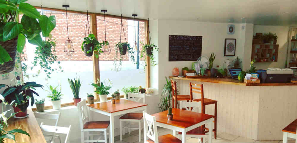 New vegan cafe in Hackney