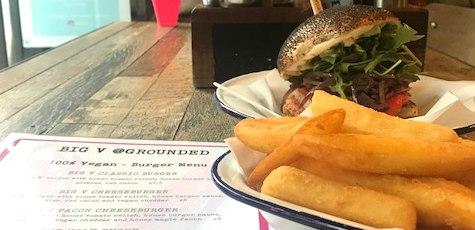Legendary vegan burger trader opens store